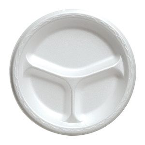 dart-9cpwq-9-compartmented-white-foam-plate-500-case